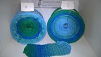 Atlantis 194 - Bobbel - 4fädig 4 Farben - LL von 380 m bis 1500 m wählbar