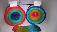038 Summertime - Bobbel - 4fädig 5 Farben - LL von 380 m bis 1500 m wählbar
