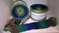 Schusselchen Veilchen 019 Bobbel - Farbverlaufsgarn 200g